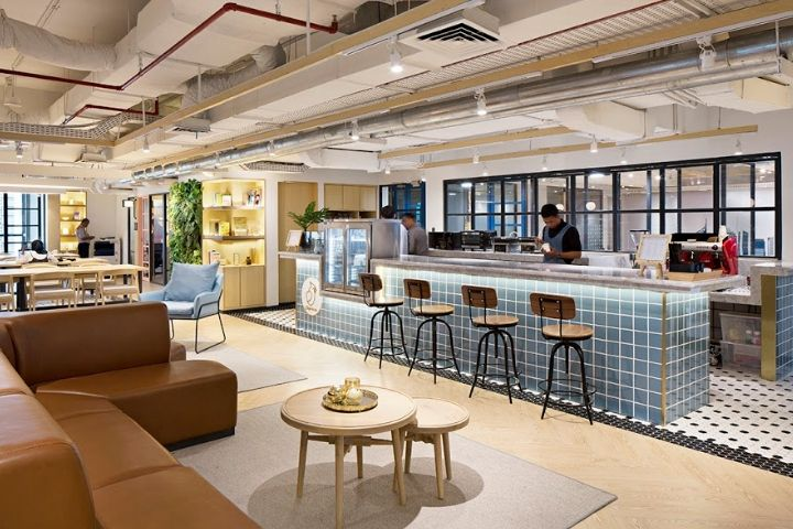 Gowork Coworking And Office Space By Metaphor Interior Architecture Jakarta Indonesia Retail Design B Interior Architecture Office Design Office Interiors