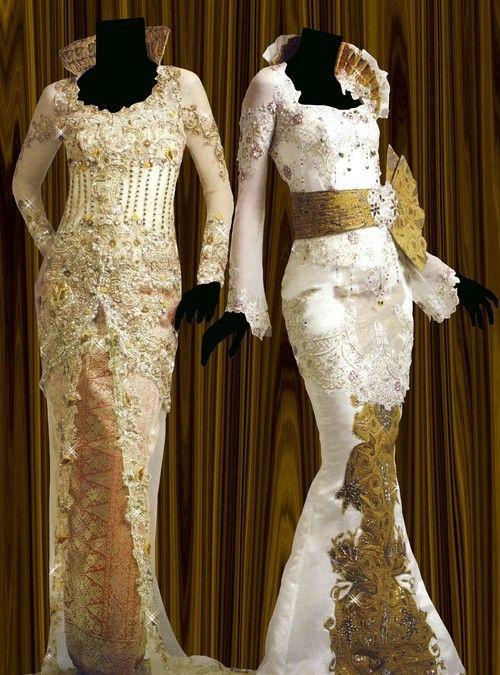 Kebaya fashion/two unique dresses
