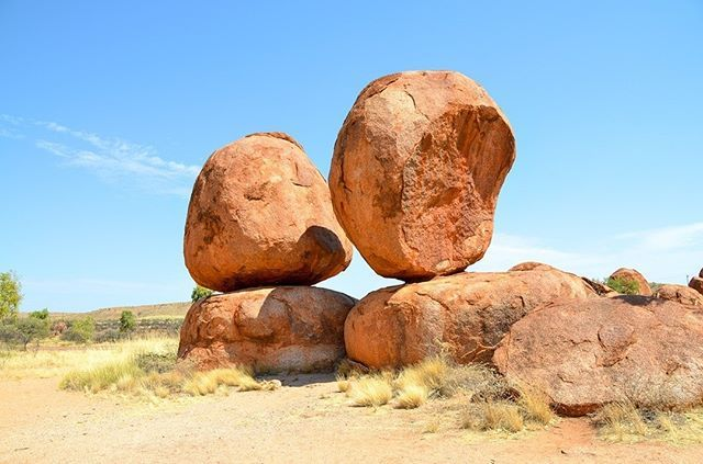 The Devils Marbles Karlu Karlu In The Australian Outback Are Visually Fascinating And Culturally Significan Australia Backpacking Australia Mysterious Places