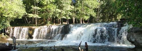 Experience one of beautiful Cambodia's national parks, known as Phnom Kulen mountain, the very natural tourism site that hides its wonderful waterfall, mystery in the lychee trees and incredibly explore the wondrous expertly carvings on the rock panels before the beginning of Angkor Era flourished and grab countryside sightseeing on the way.