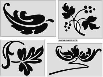 Ornamental%20design%20elements%204 thumb 336x254 1023 ザックリと骨太なベクタークリップアート(eps,svg,dwg,gif)   Free Style