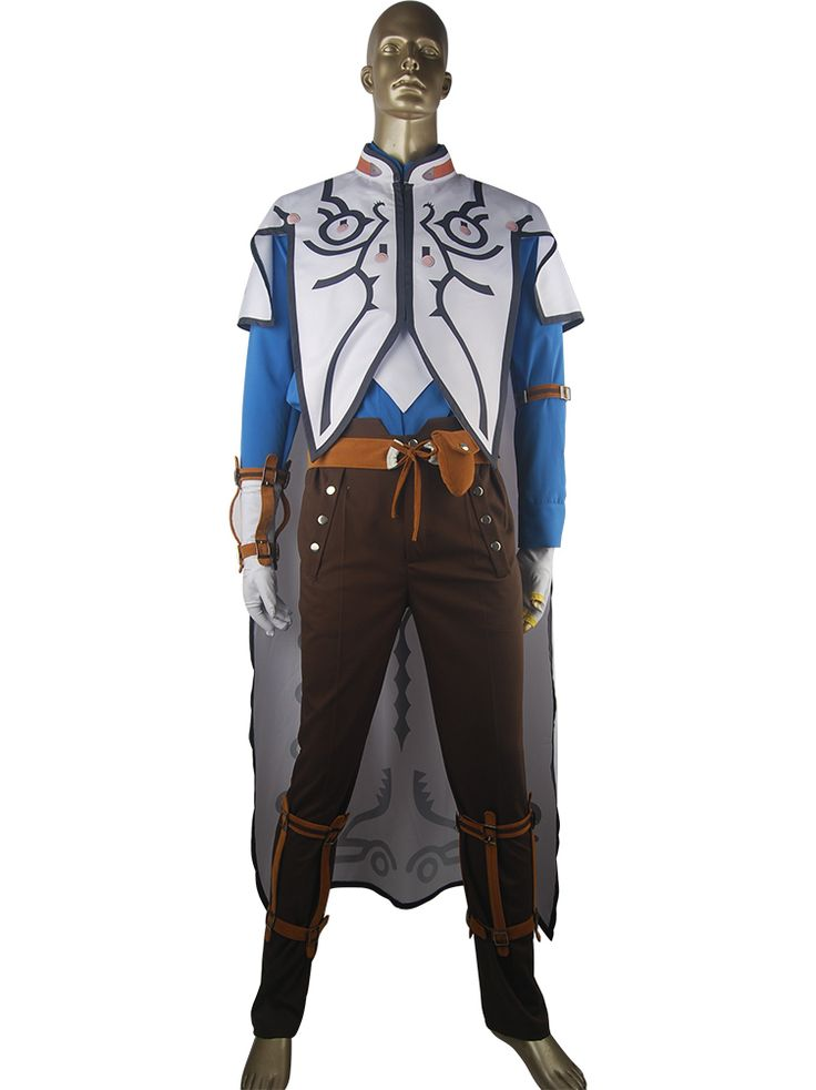 Tales of Zestiria Sorey Outfit Uniform Full Set Halloween Cosplay Tales Series Anime Costume Adults