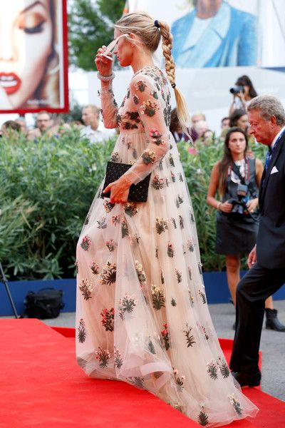 Laura Bailey attends the opening ceremony and premiere of 'Everest' during the 72nd Venice Film Festival on September 2, 2015 in Venice, Italy.