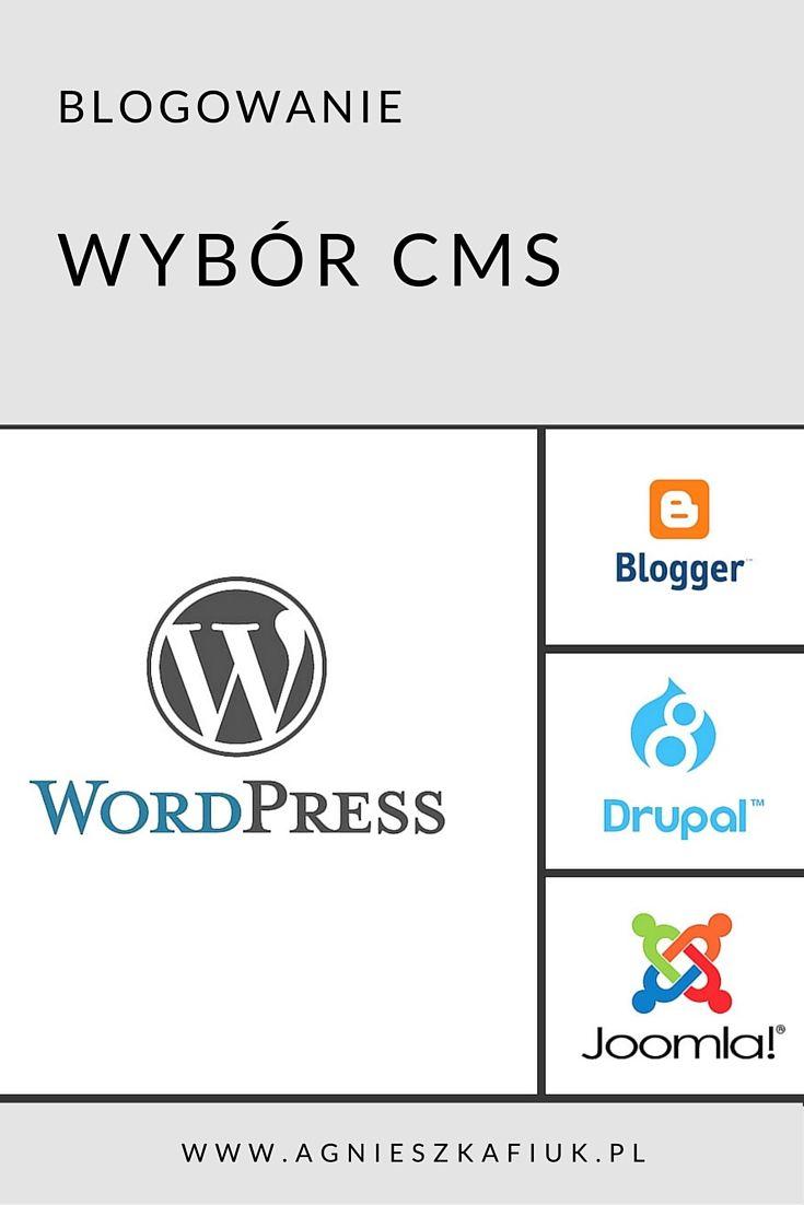 Chcesz zacząć przygodę z blogiem? Na którą platformę się zdecydować? http://www.agnieszkafiuk.pl/blog/wybor-platformy/