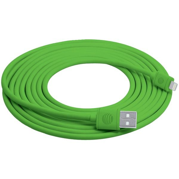 AT&T SC10LGT-GRN 10ft Lightning(TM) Cable (Green)