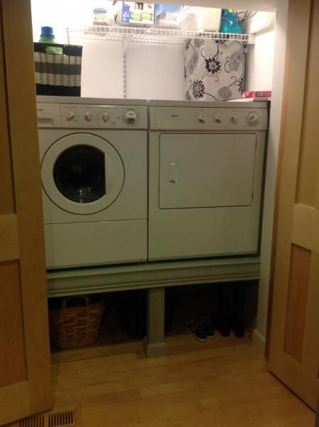 Washer Amp Dryer Pedestals Do It Yourself Home Projects