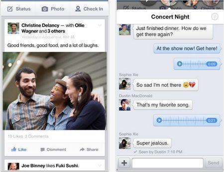 Facebook actualiza su app para iOS, ahora se puede buscar por hashtag y hacer reservaciones en restaurantes