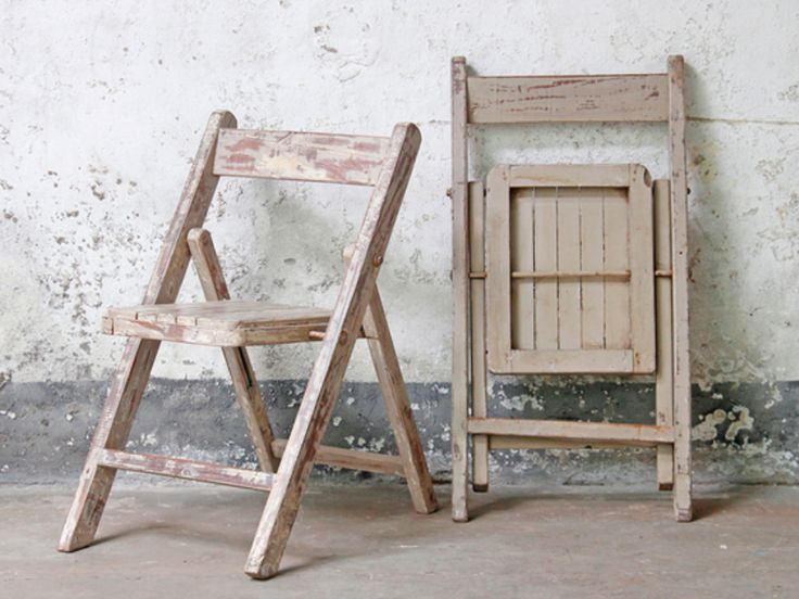 We think that these eye-catching vintage shabby chic chairs would add visual appeal to any interior or garden space. #vintage #furniture #kitchenchairs #vintagechairs #salefurniture