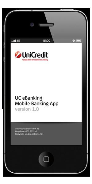 UC eBanking prime Mobile Banking App