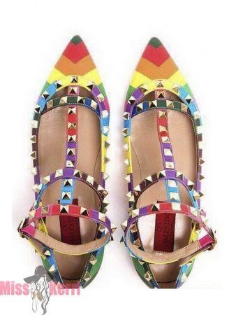 Балетки Valentino Rainbow