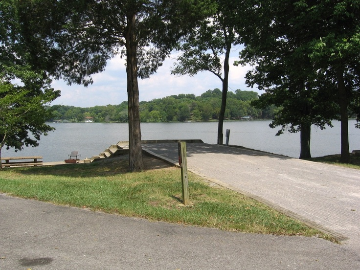 Cages Bend Campground, Old Hickory Lake site #12 ...