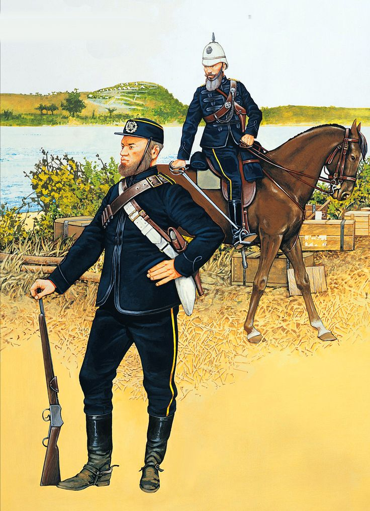 Officer, Stanger Mounted Rifles, Zulu War