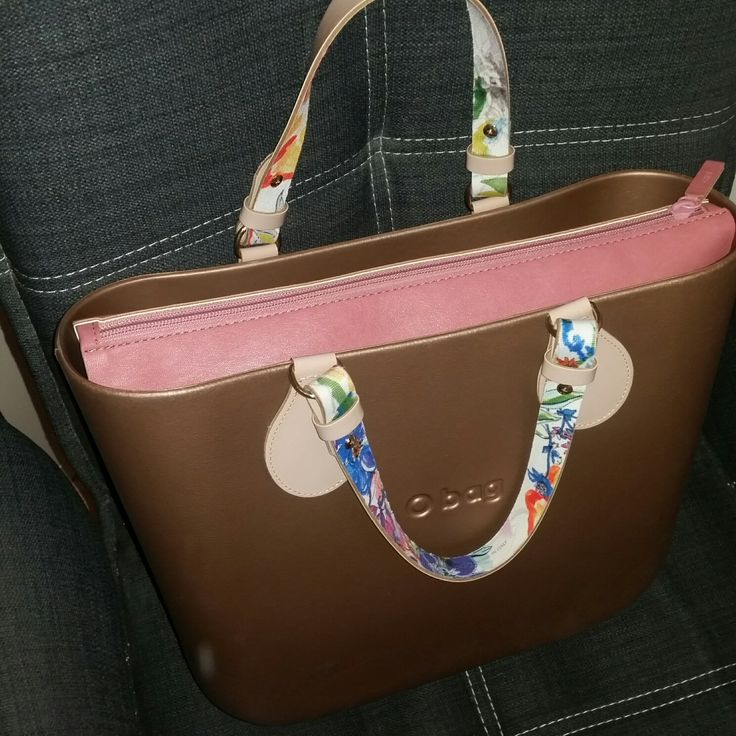 My second O Bag.  I bought more Handles and show you soon.