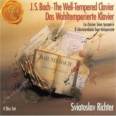 J.S. Bach* - Sviatoslav Richter - The Well-Tempered Clavier •Das Wohltemperierte Klavier at Discogs