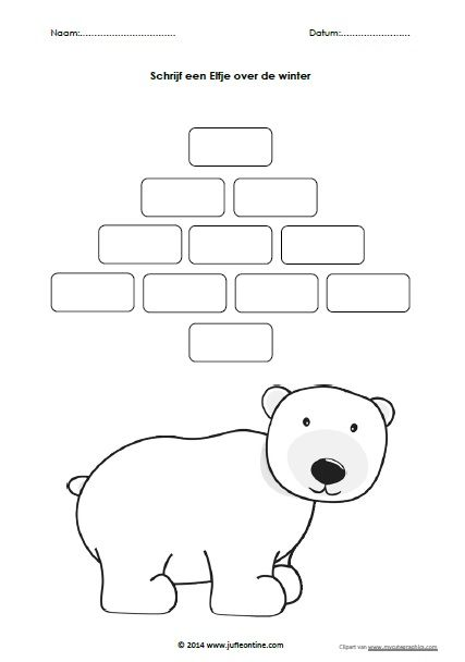 Schrijf een Elfje ijsbeer JPG