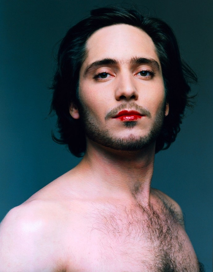 Men wearing lipstick #cute #redlips | THEME: KISS ME LIPS