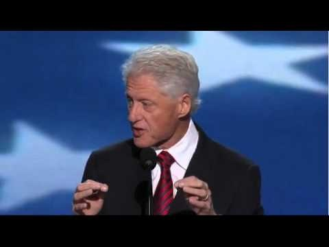 Bill Clinton nominates Barack Obama for a 2nd term as President, at the 2012 DNC. Greatest orator of our time!! Click the pic for the full speech...