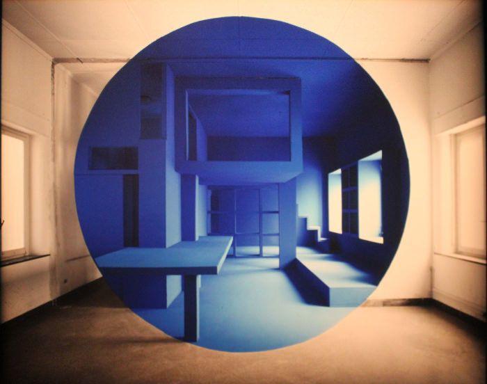 Exposition Georges Rousse : Espace(s) - Métamorphoses poétiques