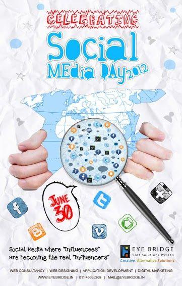 On Social Mrdia Day.