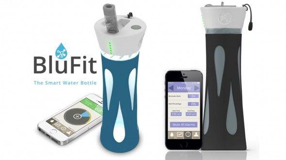 Blufit, la botella conectada que te ayuda a estar hidratado