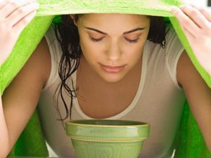 Best DIY Hair Masks And Face Masks : Steam Clean    When humidity sweat makeup and pollution build up in your pore