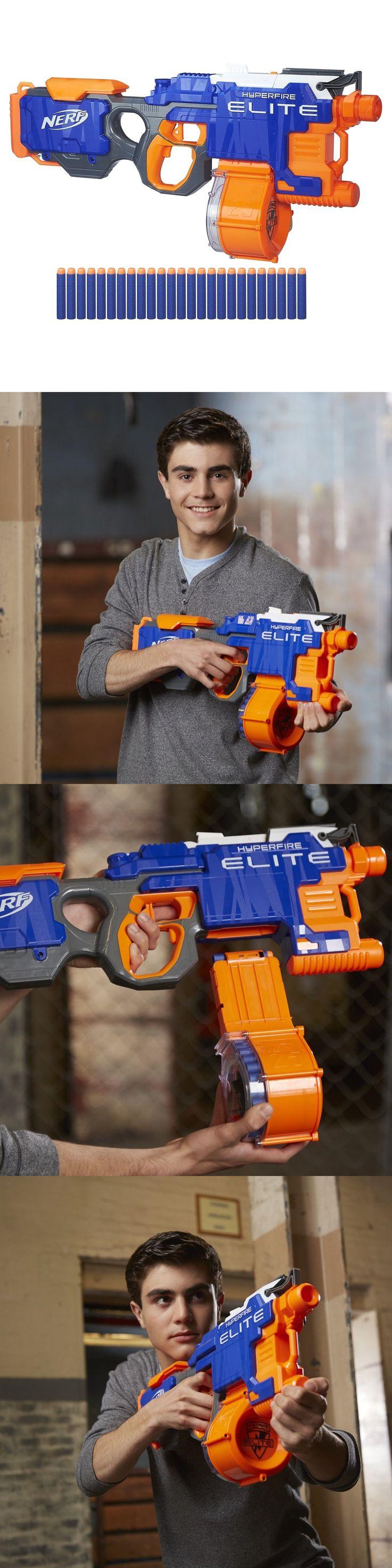 Dart Guns and Soft Darts 158749: Top Quality Original Nerf N-Strike Elite Hyperfire Blaster -> BUY IT NOW ONLY: $37.63 on eBay!