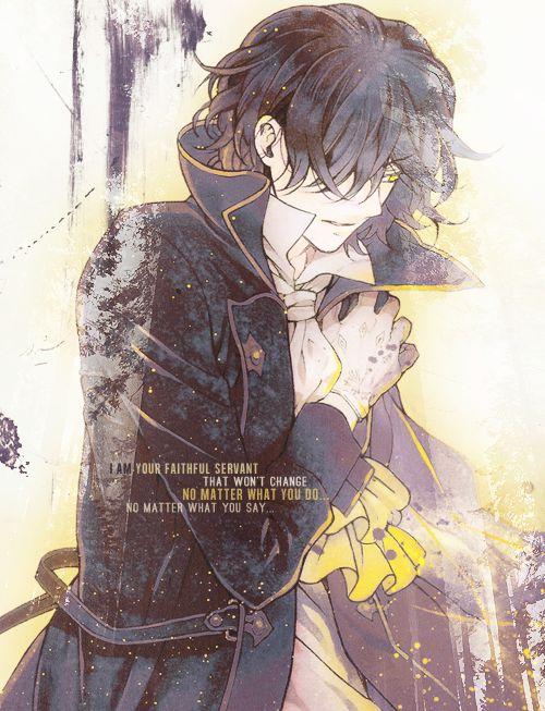 Pandora Hearts - Gilbert Nightray (Raven)