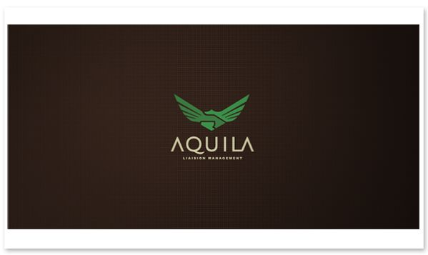 logo / Aquila - Corporative Identity by Breno Bitencourt