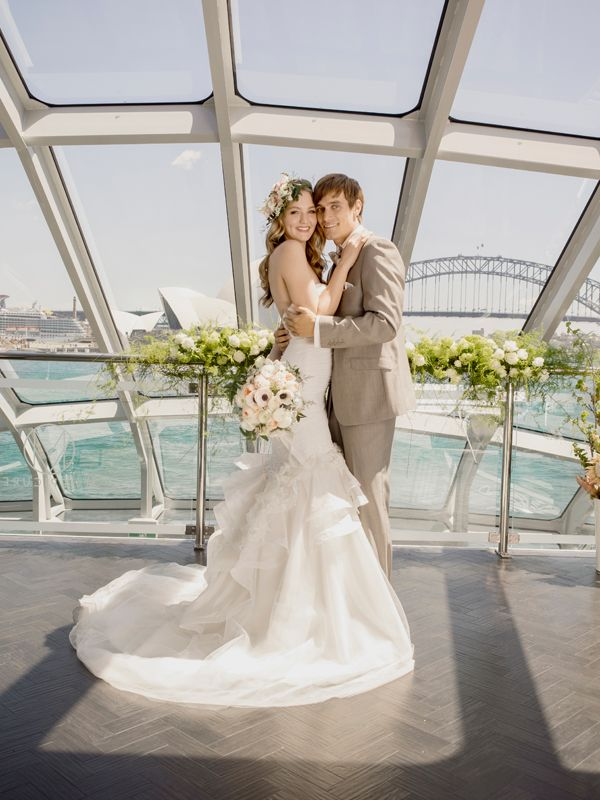 Photo shoot on board for the March issue of Sydney Bride magazine.
