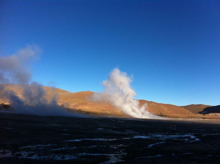 Géiser de Tatio. San Pedro de Atacama. Chile