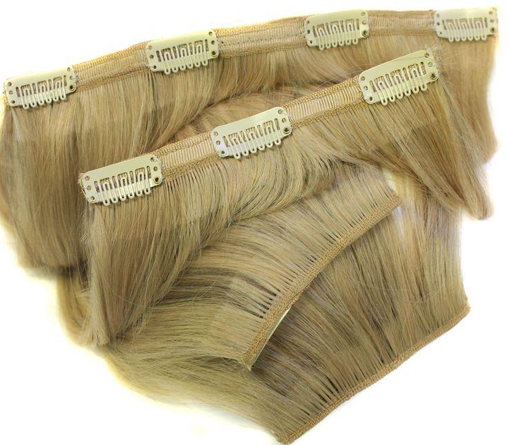 Echthaar-Clip-In-Extensions zählt man zu den nicht permanenten Befestigungssystemen. So lassen sich schnell professionelle Haarverlängerungen zaubern, ideal für besondere Anlässe wie Hochzeiten, den Abschlussball oder...