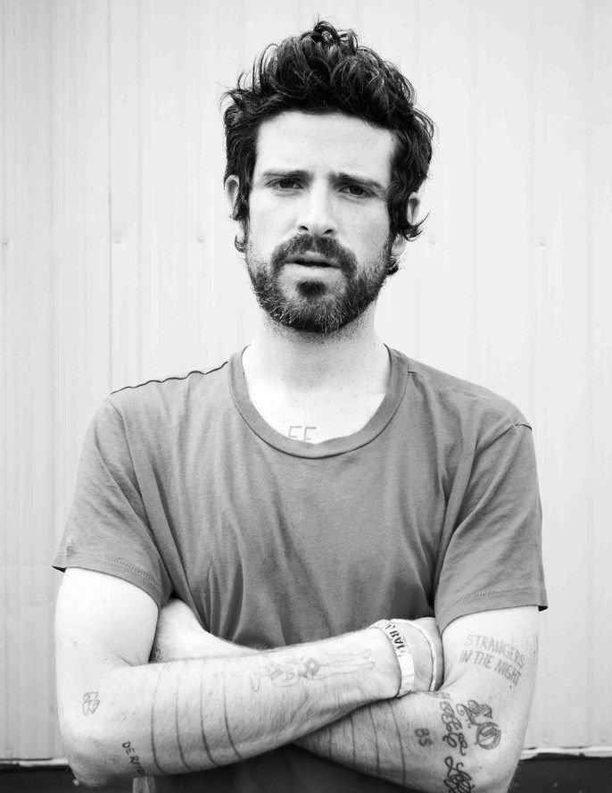 Devendra Banhart. he even has my nickname tattooed on his chest. he shouldn't have. whadda sweetie.