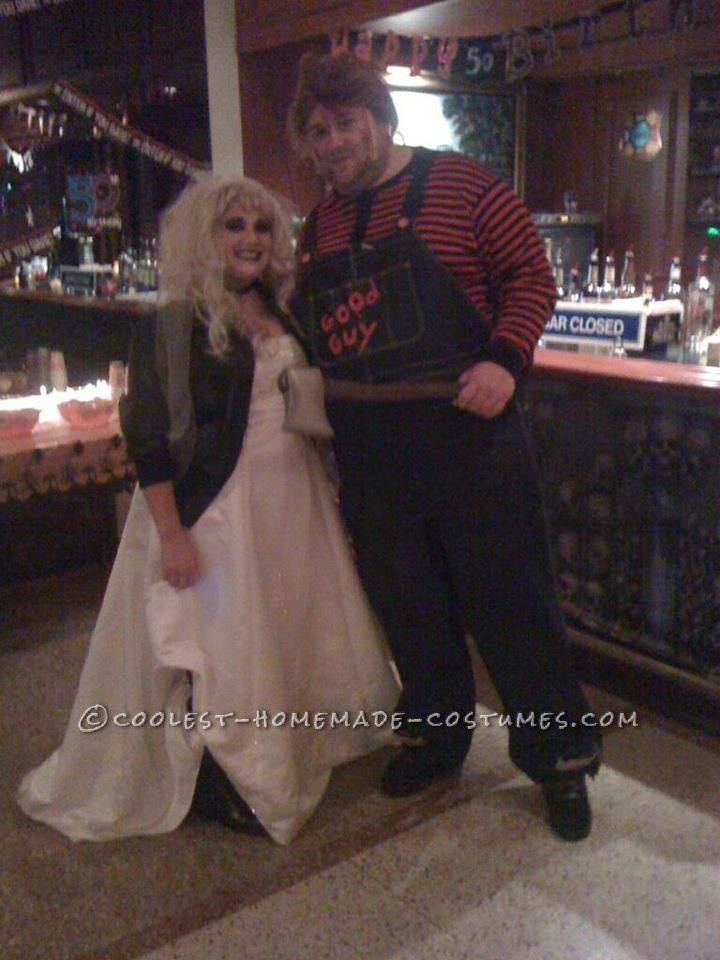 The 25 best chucky and bride of chucky halloween costume ideas coolest chucky and bride of chucky homemade halloween couple costume solutioingenieria Choice Image