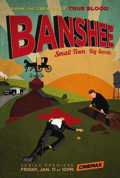"""In """"Banshee"""" steht """"Lucas Hood"""" (Antony Starr) im Zentrum, ein ehemaliger Häftling und Meisterdieb, der eine 15-jährige Gefängnisstrafe verbüßt hat. Nach seiner Freilassung macht er sich auf die Suche nach seiner alten Liebe und landet nach dem Hinweis eines Freundes in der Stadt """"Banshee, Pennysilvania"""", im Umfeld der Amish. Dort gerät er in die Situation, sich als als der neue Sheriff auszugeben und übernimmt auch dessen Namen, Lucas Hood."""