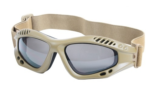Coyote Brown Tactical Goggles