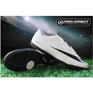 http://www.asneakers4u.com 2011 Nike Mercurial Vapor Superfly II Victory IC Indoor Football Shoes In White Black Cheap Cleats