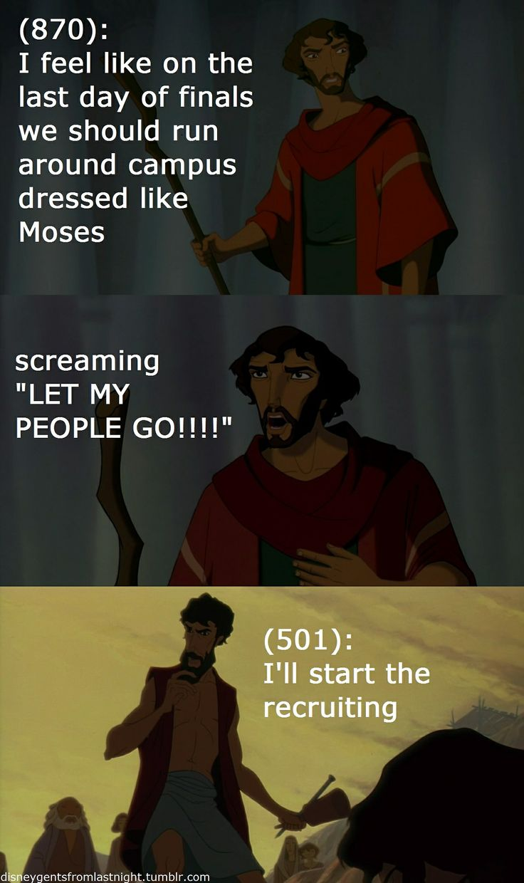 Disney Gents from Last Night. And yes, I know, Prince of Egypt isn't Disney.