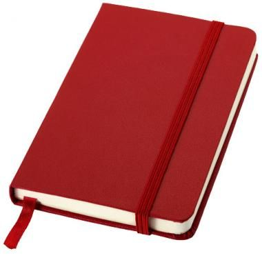 High Quality Promotional A6 Printed Notebook In Red-Journal :: Promotional Notebooks :: Promo-Brand Promotional Merchandise :: Promotional Branded Merchandise Promotional Products l Promotional Items l Corporate Branding l Promotional Branded Merchandise Promotional Branded Products London