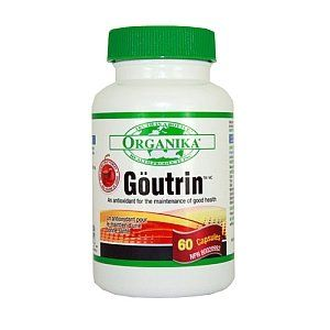 Goutrin -Uric Acid Neutralizer for Gout (60 Capsules) Brand: Organika by Organika. $14.99. Help for your gout-Natural uric acid neutralizer.-Eases inflammation. -Helps relieve the pain and discomfort of gout. -With black cherry powder extract.-Natural diuretic properties. RECOMMENDED ADULT DOSE:1 capsule in the morning and 1 capsule in the evening with a meal.MEDICINAL INGREDIENTS - EACH CAPSULE CONTAINS:Note: Government regulations have caused the label to cha...
