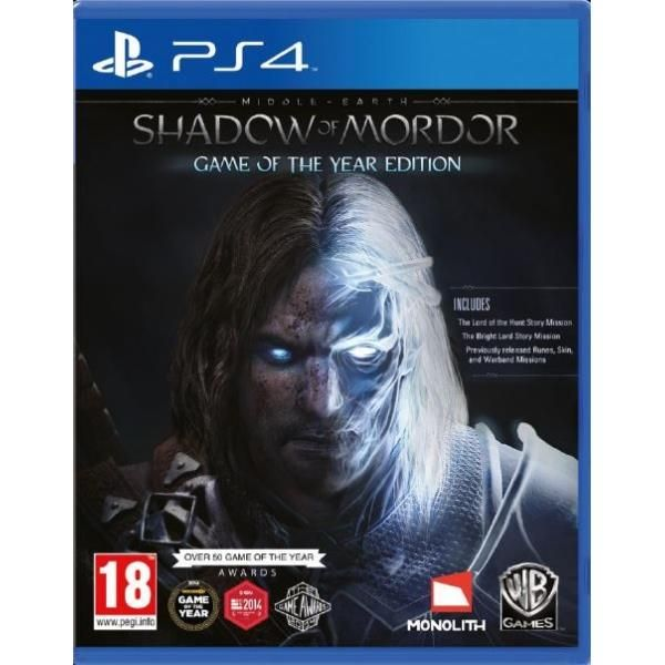 Middle-earth Shadow Of Mordor Game Of The Year (GOTY) PS4 Game | http://gamesactions.com shares #new #latest #videogames #games for #pc #psp #ps3 #wii #xbox #nintendo #3ds
