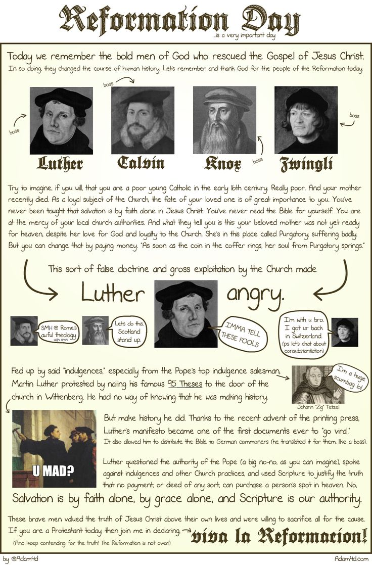 an introduction to the history of the protestant reformation John calvin shaped the protestant movement as a way of life and was instrumental in its spread across europe to france, scotland, and england the english reformation was carried out by royal authority.