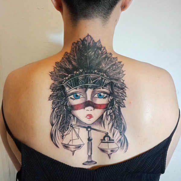 Tatuaże Ze Znakami Zodiaku Waga Znaczenie Historia 50