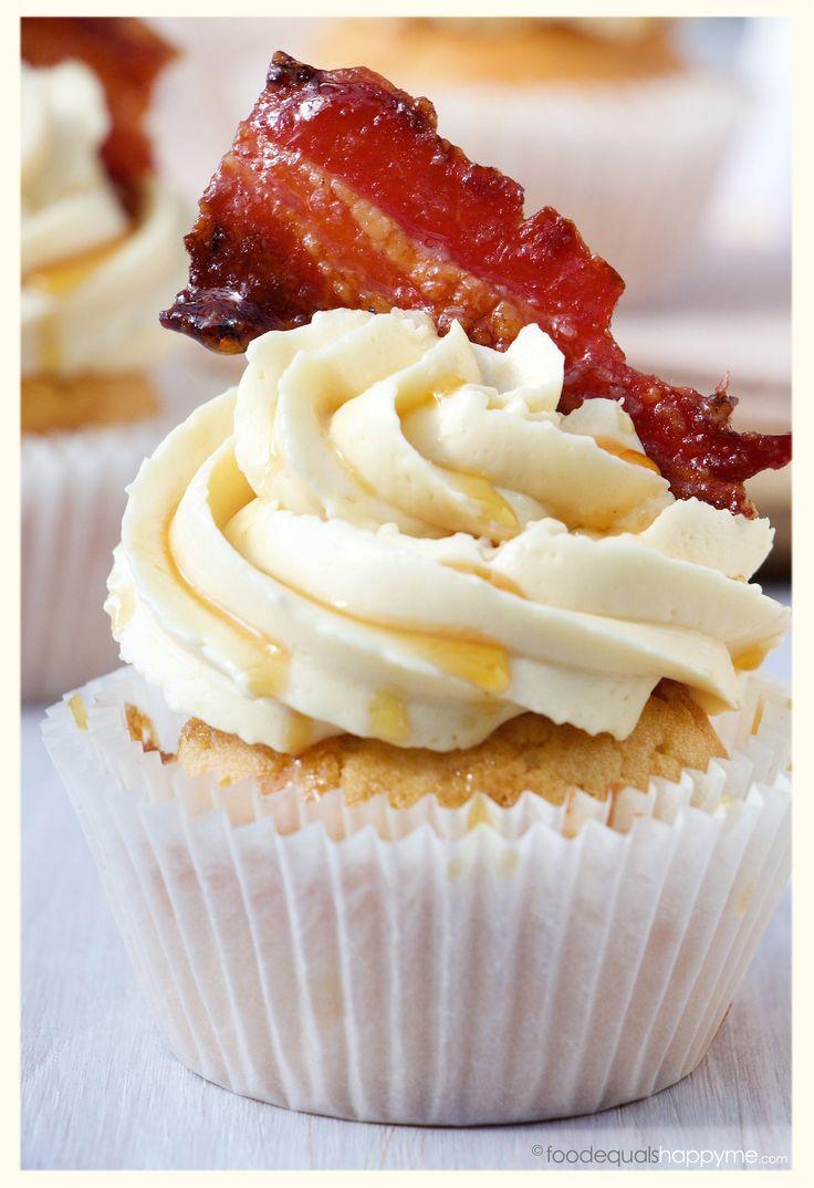Maple Bacon Whisky Cupcakes