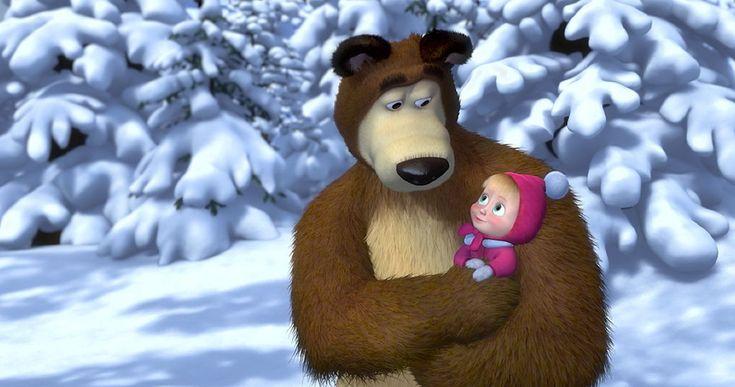 Macha et l'Ours : «Nous avons juste créé un dessin animé pour nous amuser»