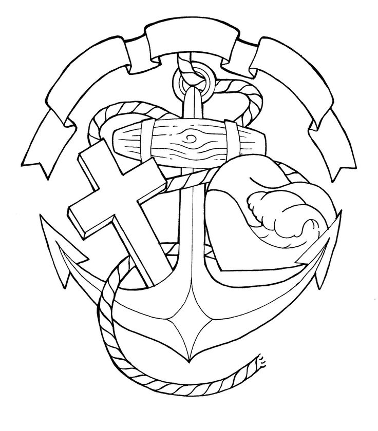 25 Best Faith Hope Love Anchor Tattoo Sketch Images On
