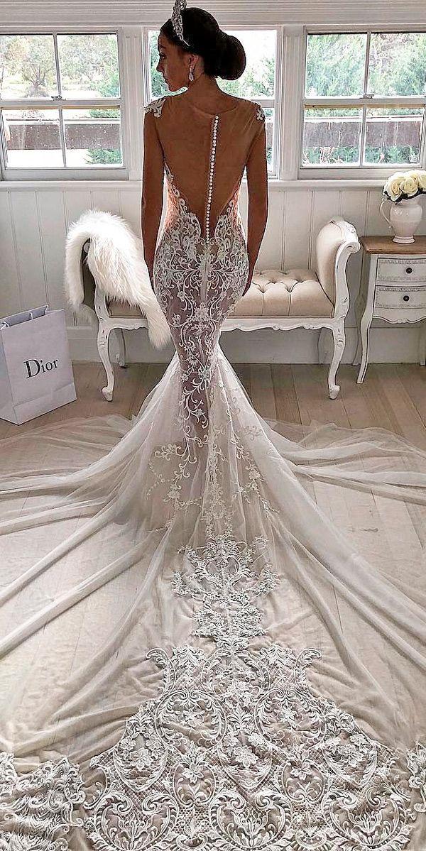 Sexy Low-Back Wedding Dresses