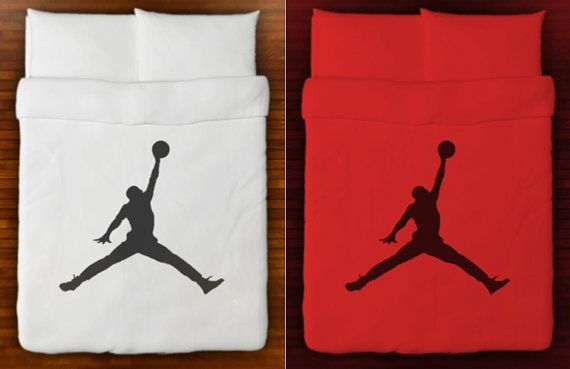 Basketball Bedding Duvet Cover air jordan by SHOWERCURTAINS