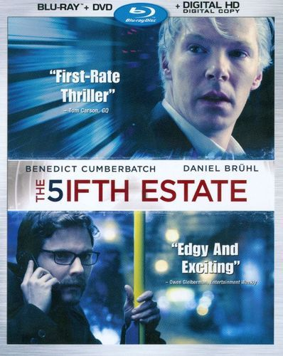 The Fifth Estate [2 Discs] [Includes Digital Copy] [Blu-ray/DVD] [2013]
