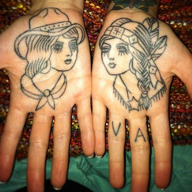 Lady hands
