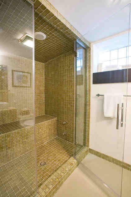 Steam shower wet sauna? Yes, please.